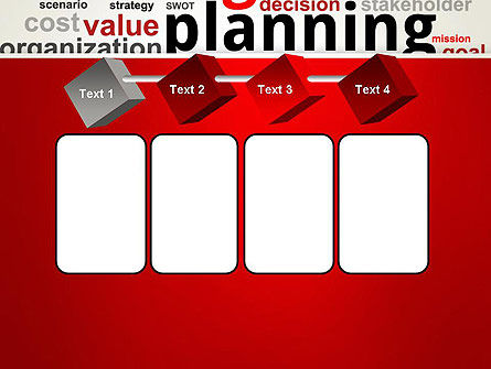 Strategic Planning and Management Word Cloud PowerPoint Template Slide 18