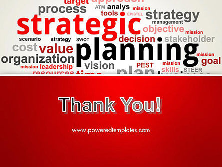 Strategic Planning and Management Word Cloud PowerPoint Template Slide 20