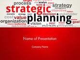 Careers/Industry: Strategische Planning En Beheer Word Cloud PowerPoint Template #13055