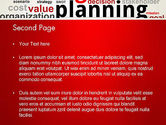Strategic Planning and Management Word Cloud PowerPoint Template#2