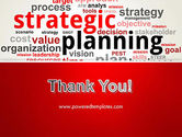 Strategic Planning and Management Word Cloud PowerPoint Template#20