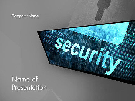 Hardware Security Services PowerPoint Template, Backgrounds | 13058