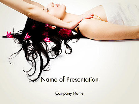 Health and Recreation: Massage Therapy PowerPoint Template #13060