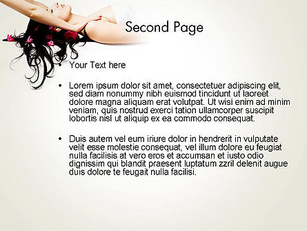 Massage Therapy PowerPoint Template Slide 2