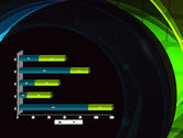 Blue and Green Abstract Arcs PowerPoint Template#11