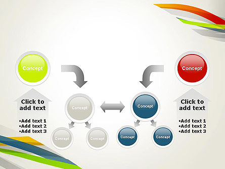 Streaming Stripes PowerPoint Template Slide 19