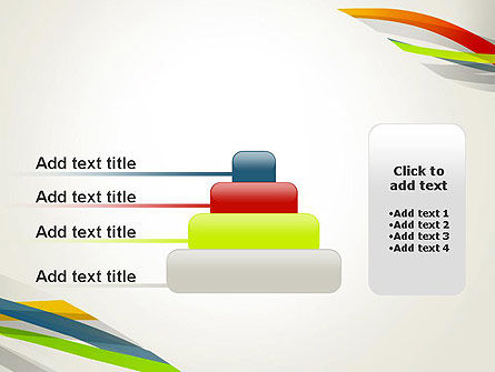 Streaming Stripes PowerPoint Template Slide 8