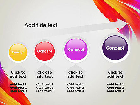 Phoenix Tail Abstract PowerPoint Template Slide 13