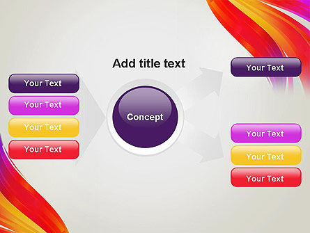 Phoenix Tail Abstract PowerPoint Template Slide 14