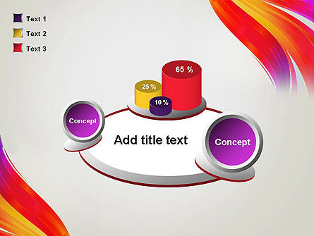 Phoenix Tail Abstract PowerPoint Template Slide 16