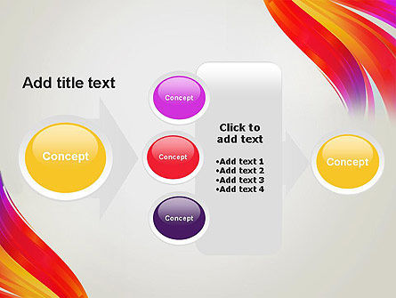 Phoenix Tail Abstract PowerPoint Template Slide 17
