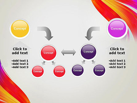Phoenix Tail Abstract PowerPoint Template Slide 19