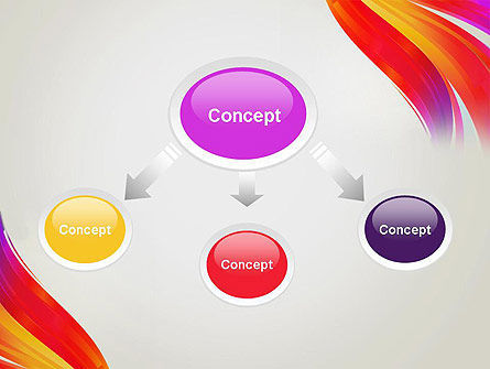 Phoenix Tail Abstract PowerPoint Template Slide 4