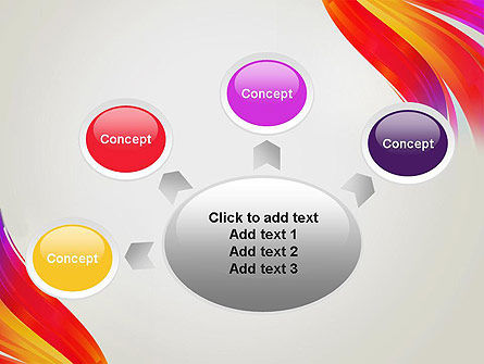 Phoenix Tail Abstract PowerPoint Template Slide 7