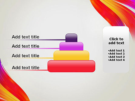 Phoenix Tail Abstract PowerPoint Template Slide 8