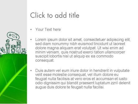 Green Environment Concept PowerPoint Template, Slide 3, 13072, Nature & Environment — PoweredTemplate.com