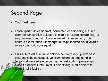 Green Environment Concept PowerPoint Template, Slide 2, 13072, Nature & Environment — PoweredTemplate.com