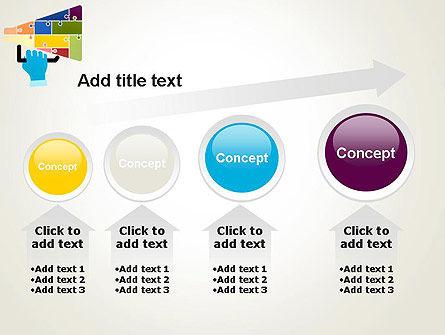 Megaphone Puzzle PowerPoint Template Slide 13