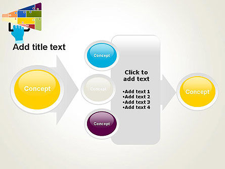 Megaphone Puzzle PowerPoint Template Slide 17