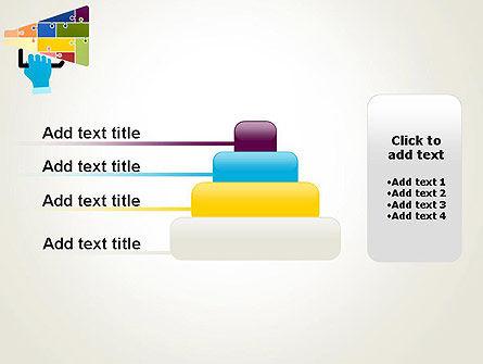 Megaphone Puzzle PowerPoint Template Slide 8