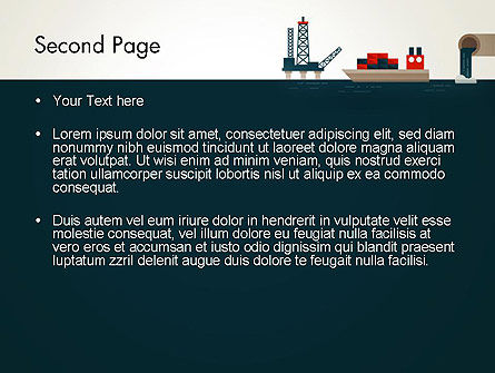 Oil Transportation PowerPoint Template Slide 2