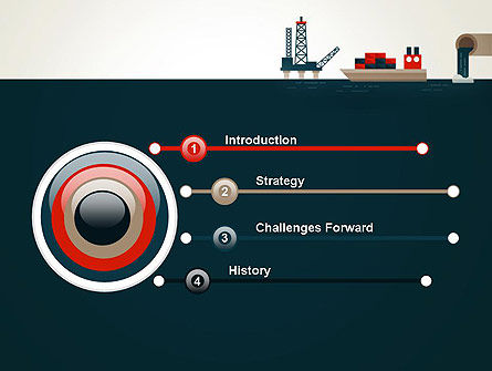 Oil Transportation PowerPoint Template, Slide 3, 13075, Cars and Transportation — PoweredTemplate.com