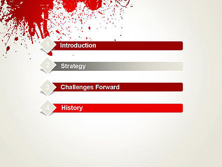 Murder PowerPoint Template, Slide 3, 13077, Abstract/Textures — PoweredTemplate.com