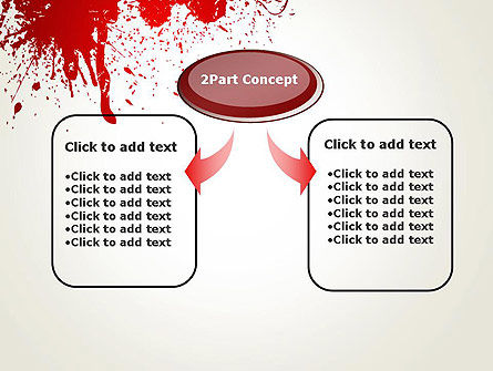 Murder PowerPoint Template, Slide 4, 13077, Abstract/Textures — PoweredTemplate.com
