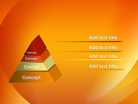 Orange Abstract Arcs PowerPoint Template Slide 12