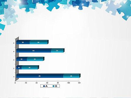 Transparent Puzzle Pieces PowerPoint Template Slide 11