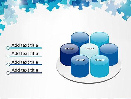 Transparent Puzzle Pieces PowerPoint Template Slide 12