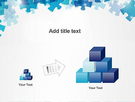 Transparent Puzzle Pieces PowerPoint Template Slide 13