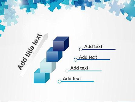 Transparent Puzzle Pieces PowerPoint Template Slide 14