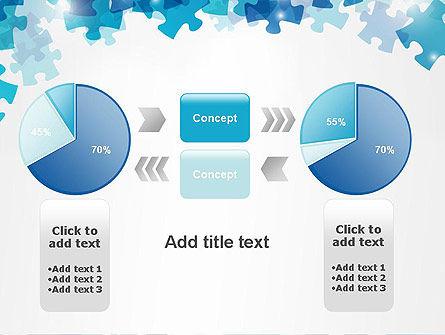 Transparent Puzzle Pieces PowerPoint Template Slide 16