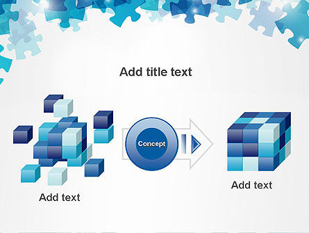 Transparent Puzzle Pieces PowerPoint Template Slide 17