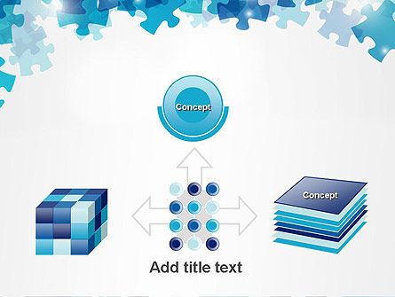Transparent Puzzle Pieces PowerPoint Template Slide 19