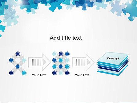 Transparent Puzzle Pieces PowerPoint Template Slide 9