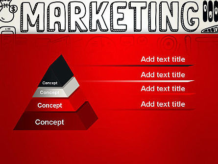 Digital Marketing Word Cloud PowerPoint Template Slide 12