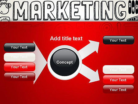 Digital Marketing Word Cloud PowerPoint Template Slide 14