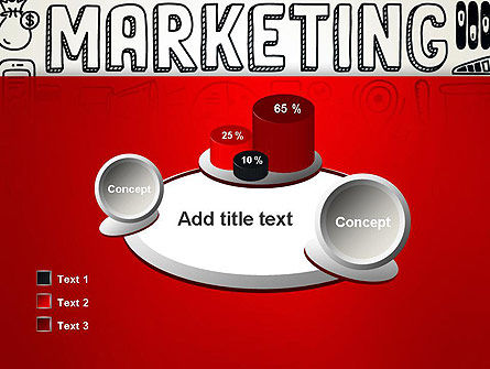 Digital Marketing Word Cloud PowerPoint Template Slide 16