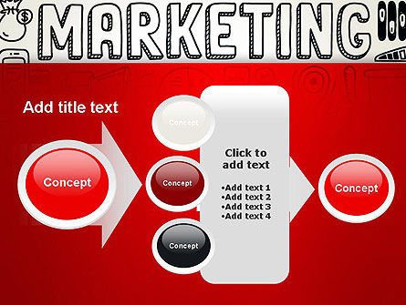 Digital Marketing Word Cloud PowerPoint Template Slide 17