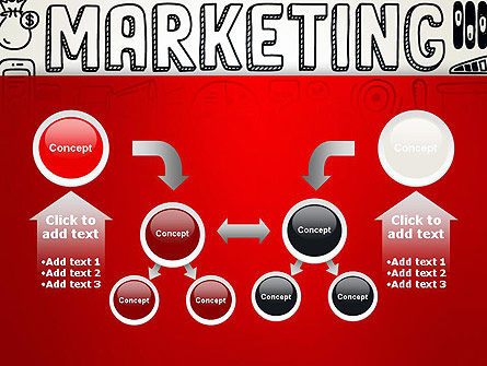 Digital Marketing Word Cloud PowerPoint Template Slide 19