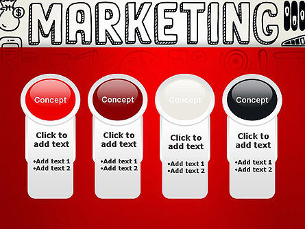 Digital Marketing Word Cloud PowerPoint Template Slide 5