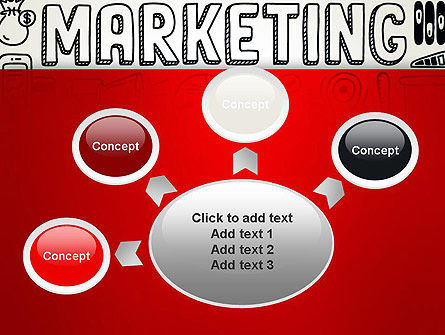 Digital Marketing Word Cloud PowerPoint Template Slide 7
