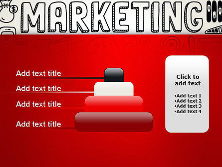 Digital Marketing Word Cloud PowerPoint Template Slide 8