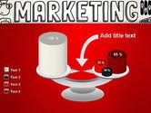 Digital Marketing Word Cloud PowerPoint Template#10