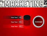 Digital Marketing Word Cloud PowerPoint Template#11