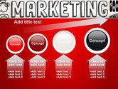 Digital Marketing Word Cloud PowerPoint Template#13