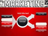 Digital Marketing Word Cloud PowerPoint Template#14