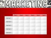 Digital Marketing Word Cloud PowerPoint Template#15